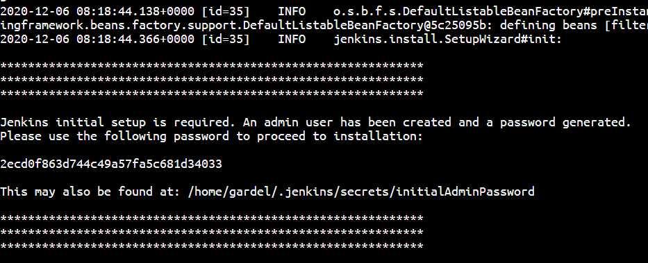 Jenkins密码